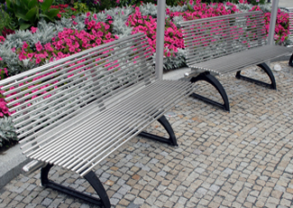 Stainless Steel Benches - Salt Lake City, UT